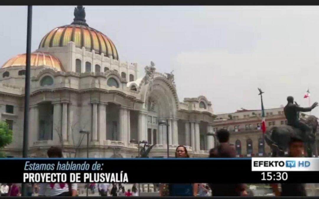 Entrevista EfektoTV plusvalía inmobiliaria