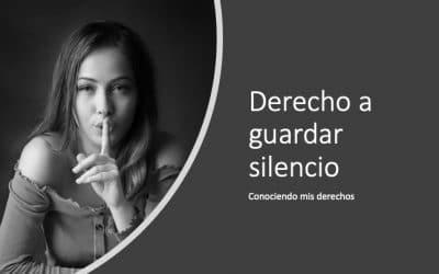 Derecho a guardar silencio